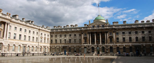 somerset house Conversion, lighting, climate control and technical work on heritage site