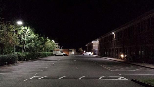 car park lights