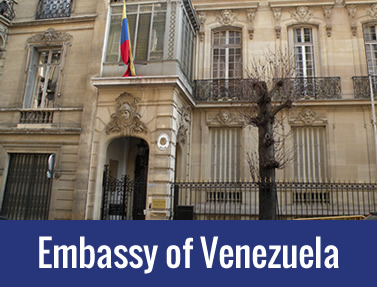 Embassy Of Venezuela – London
