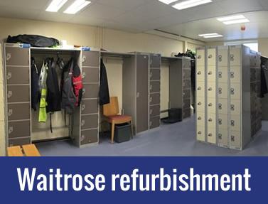 Waitrose – Partner Toilet Refurbishment