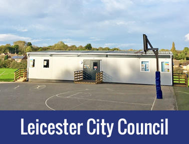 Leicester City Council – Temporary Modular Buildings